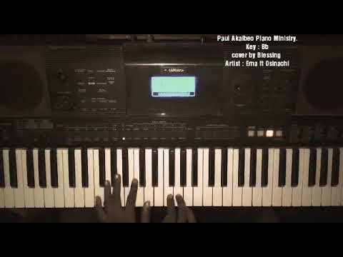 You no dey use me play - Ema ft Osinachi - Flipped piano tutorial
