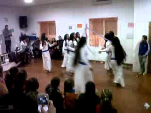 danza de las niñas de baza
