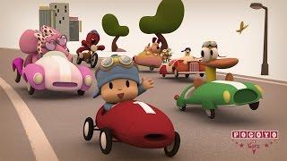 🏎️ POCOYÓ en ESPAÑOL - ¡La Gran Carrera! [ 20 min ] | CARICATURAS y DIBUJOS ANIMADOS para niños