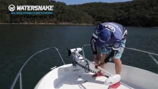 Watersnake GPSmart Electric Motor Instructions - 2. Deploying & Stowing