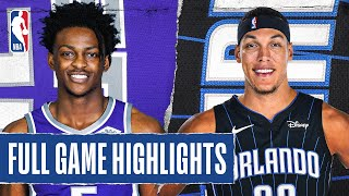 KINGS at MAGIC | FULL GAME HIGHLIGHTS | August 2, 2020 by NBA