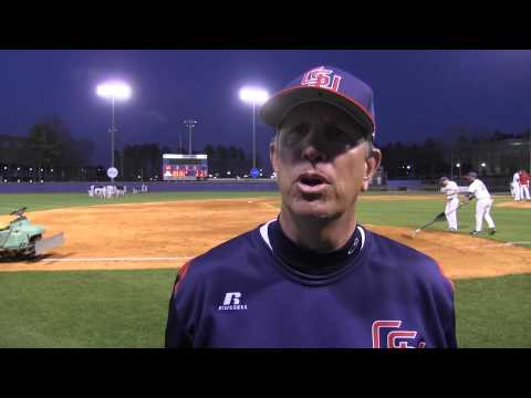 Postgame - Baseball vs. Auburn-Montgomery