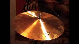 This is the 10 Inch Splash. It weighs 215 grams.These videos are intended only as a guide. I am uploading them because there are very few samples of Diril Cymbals available. Please do not judge the actual sound of the cymbals based on these videos, they are so much better than my humble recording equipment could ever illustrate.