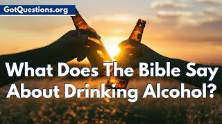 What does the Bible say about drinking alcohol? Is drinking a Sin? Is it ok drink wine? Can Christians drink alcohol, if so, how much? Those are real questions ...