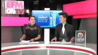 EFM On TV 25 October 2013 - Thai Talk Show