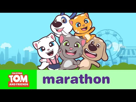 ALL EPISODES - Talking Tom and Friends Minis Marathon - Thời lượng: 1:22:01.