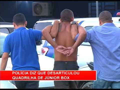 [RONDA GERAL] Polícia desarticula quadrilha de Júnior Box