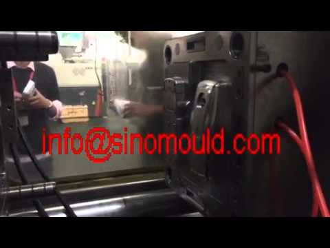 1+1 cavity electric box mold testing