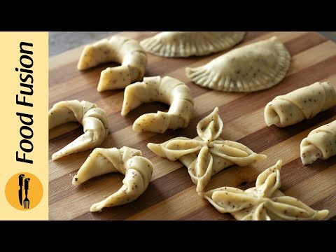 5 Folding Techniques With Samosa Dough By Food Fusion