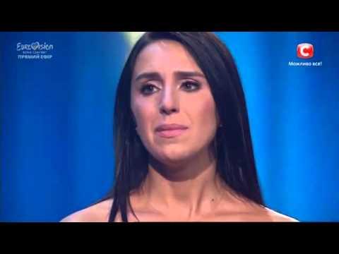 2016 02 21 Eurovision   Евровидение 2016  Ukraine Final JAMALA   Джамала ''1944'' (видео)