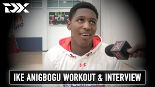 Ike Anigbogu NBA Pre-Draft Workout and Interview from Chicago