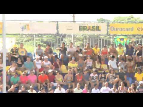 Juliana/Taiana 2 x 0 Fabiola/Rafaela (видео)