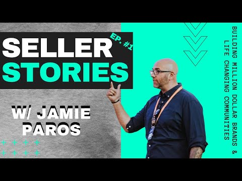 Jamie Paros [HEIST SELLER STORIES EP #1] Building 7-Figure Amazon Brands & Hyper-Engaged Communities