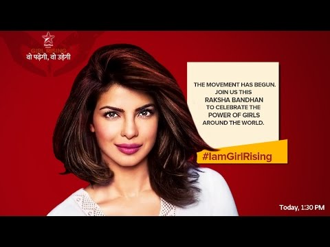 Motivate and empower her, says Priyanka Chopra