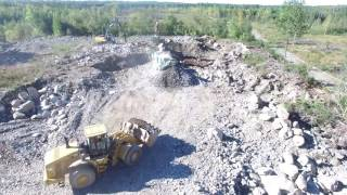 Kirkland Lake Canada  city photo : Orefinders Mirado Mine Gold Stockpile Project in Kirkland Lake, ON, Canada.