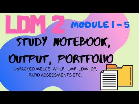 LDM 2 - MODULE 1 to 5 (PORTFOLIO)