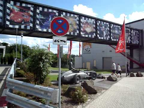Nurburgring info/entrance booth