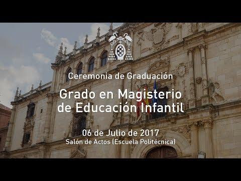 Graduación: Grado en Magisterio de Educación Infantil · 06/07/2017