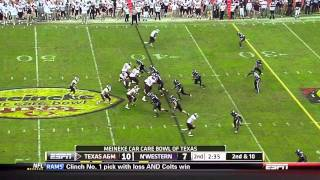 Ryan Tannehill vs Northwestern (2011)