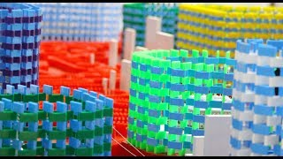 Video 300,000 Dominoes Buildup - Turkish Domino Record! (Pt. 1) MP3, 3GP, MP4, WEBM, AVI, FLV Desember 2018