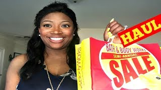 Hey Family!No matter how hard I try, I can't resist the Semi-Annual Sale at Bath and Body Works. My car will always turn in that direction, LOL! Today I am sharing my haul with so you will have time to get in on the savings. Thanks for Watching!