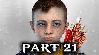 God of War Gameplay Walkthrough Part 21 - ATREUS (PS4 2018)