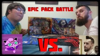 Pokemon Cards! MOST EPIC PACK BATTLE EVER VS PC Jet! by Master Jigglypuff and Friends