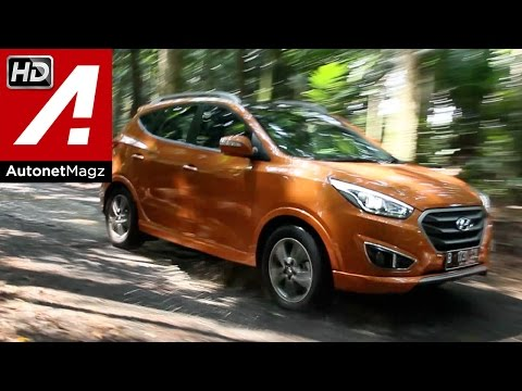 Review and test drive Hyundai Tucson XG facelift Indonesia 2015 by AutonetMagz