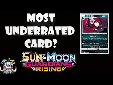 Is Honchkrow the Most Underrated Pokémon Card in Guardians Rising? (TCG) (видео)