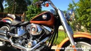 7. Used 2008 Harley-Davidson Fat Boy FLSTF 105th Anniversary