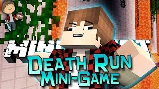 Minecraft: Death Run 1.8 Mini-Game w/Mitch&Friends! (Challenge Mini-Game!)