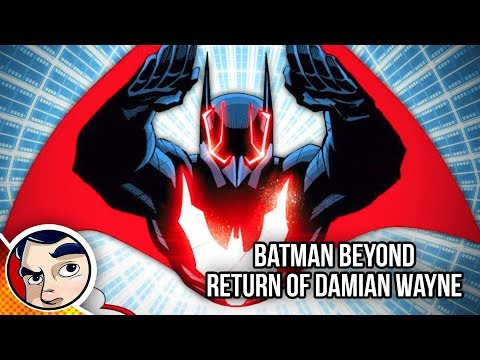 "Batman Beyond ""where Is Damian Wayne? Bruce's Son."" - Rebirth Complete Story 