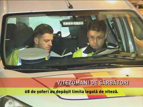 68 de şoferi au depăşit limita legală de viteză