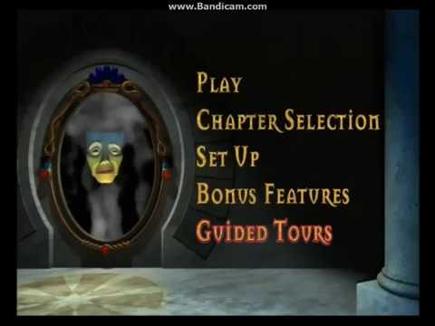 Disney's Snow White And The Seven Dwarfs (2001) DVD Menu, Disc 1