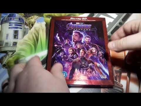Avengers Endgame 3D Blu-Ray (UK) Unboxing