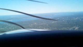 Cirrus SR-22 Ferry Flight Over Long Island Sound And Hudson River
