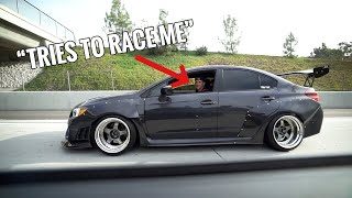 WRX OWNERS WILL NOT LEAVE ME ALONE! (450HP BRZ) by TJ Hunt