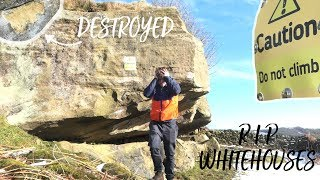 My favourite local climbing spot DESTROYED! *Whitehouses* by Dan Turner