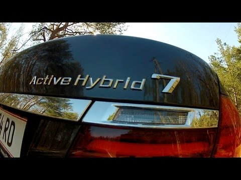 (ENG) 2013 BMW F02 ActiveHybrid 7 – Test Drive and Review