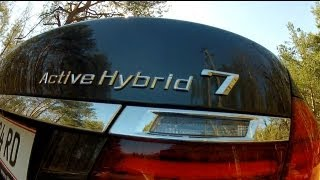 (ENG) 2013 BMW F02 ActiveHybrid 7 - Test Drive And Review