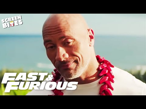 A Day With The Rock | A Day In The Life Of Luke Hobbs | Fast & Furious | SceneScreen