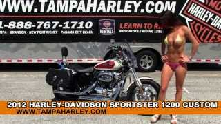 6. Used 2012 Harley Davidson Sportster 1200 Custom for sale Review Specs