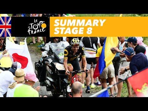 Summary - Stage 8 - Tour de France 2017