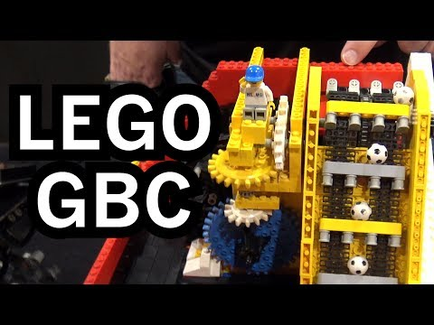 The World s Largest LEGO Great Ball Contraption A LEGO Rube Goldberg Machine With 200
