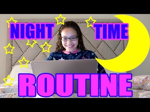 Sierra's Summer Nighttime Routine!!!