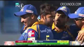 PSL T20 Match 6 - Islamabad United vs Karachi Kings Highlights