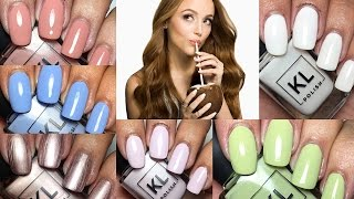 KL Polish 2017 Spring Collection by Kathleen Lights | The Polished Pursuit