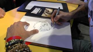 Dédicace de Sophian Cholet - Angoulême 2016 - Autres - ZOMBIES