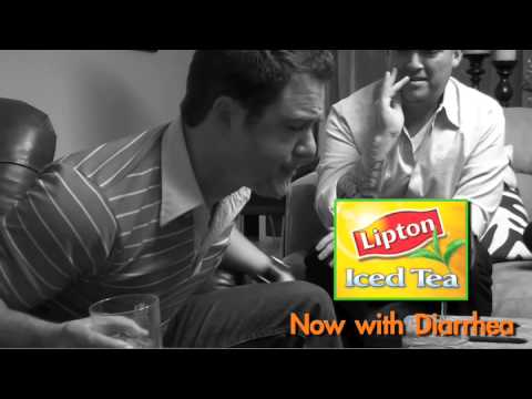 Banned Lipton Iced Tea Commercial