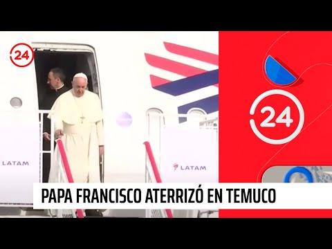 Chile: Papa Francisco rompe protocolo en su llegada a Temuco (VIDEO)